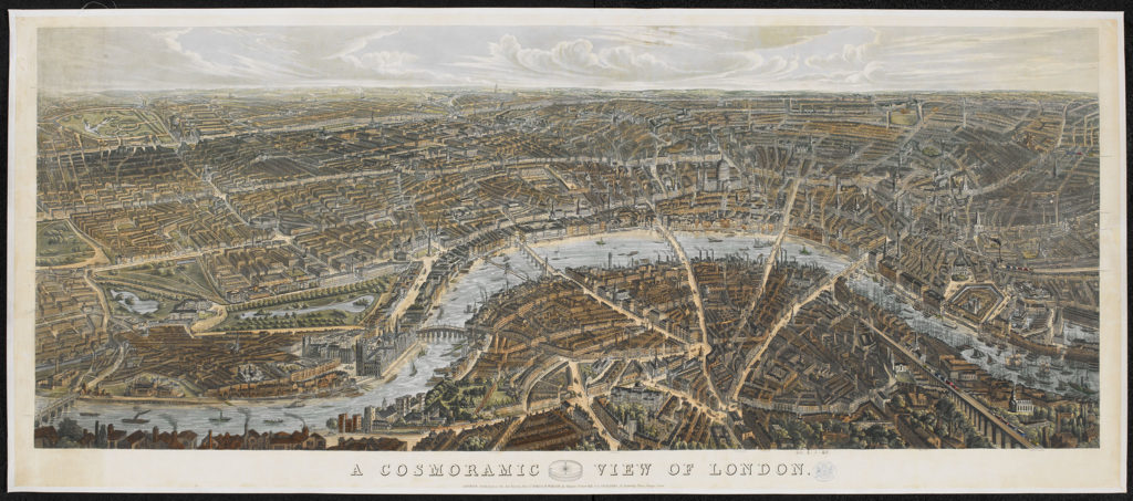 "Edward Wallis's 1843 ""Cosmoramic View of London"""
