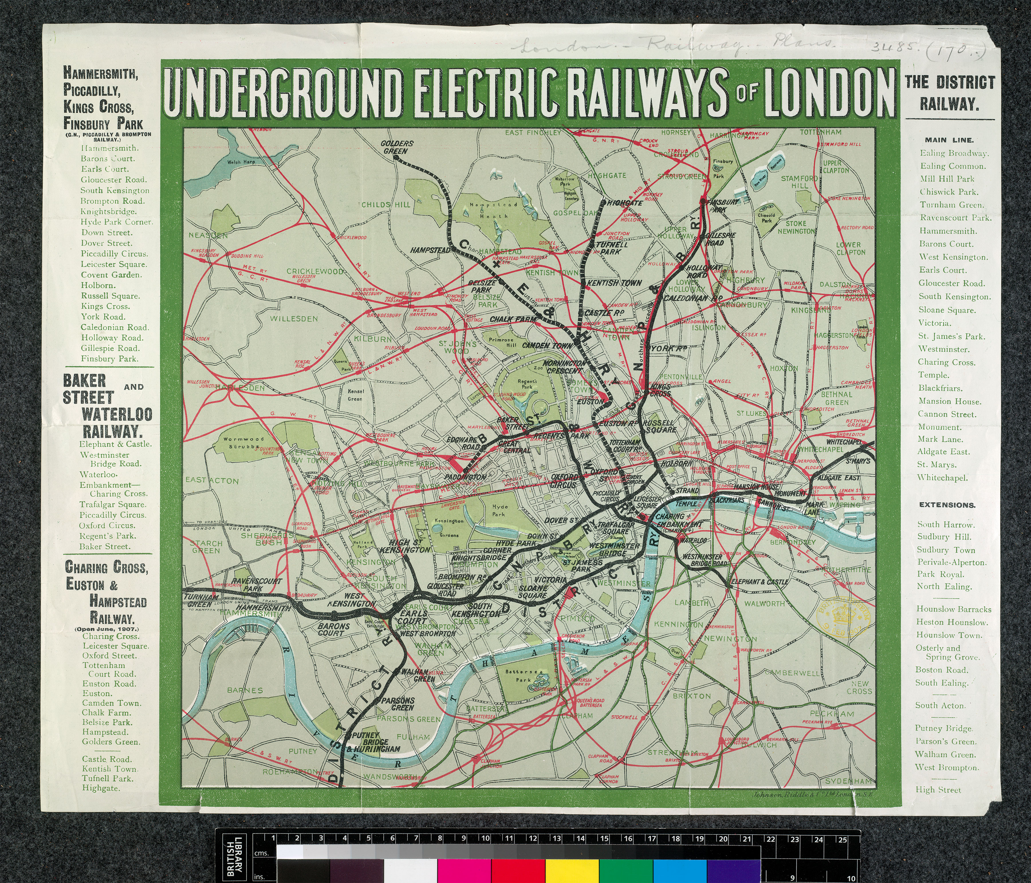 Historic Film Clips of London - London Topographical