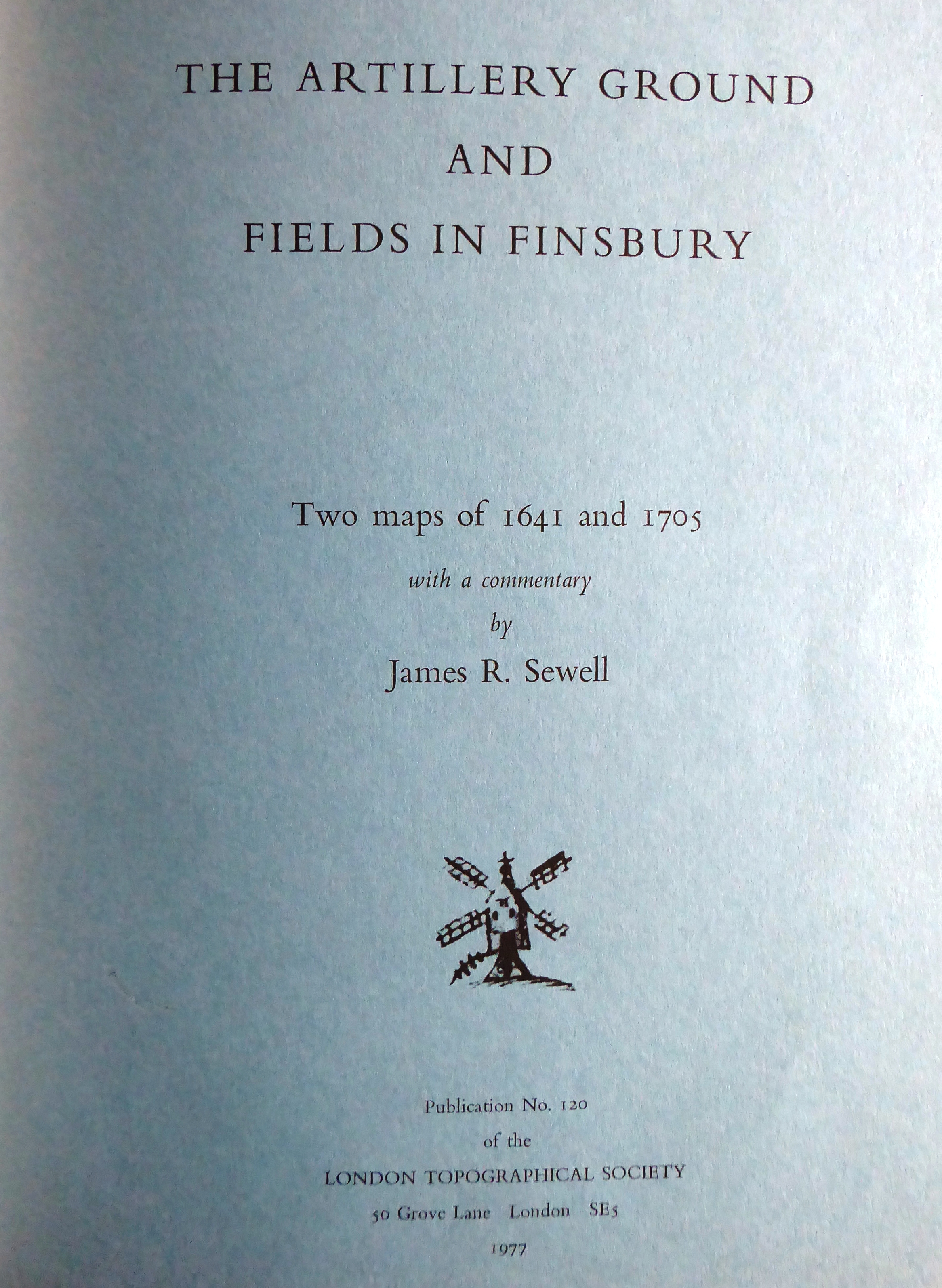 Publications for sale - London Topographical SocietyLondon